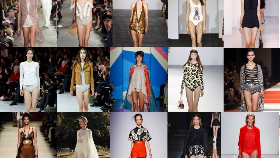 What does the bodysuit trend means, really obvious in Spring-Summer 2016 catwalks?