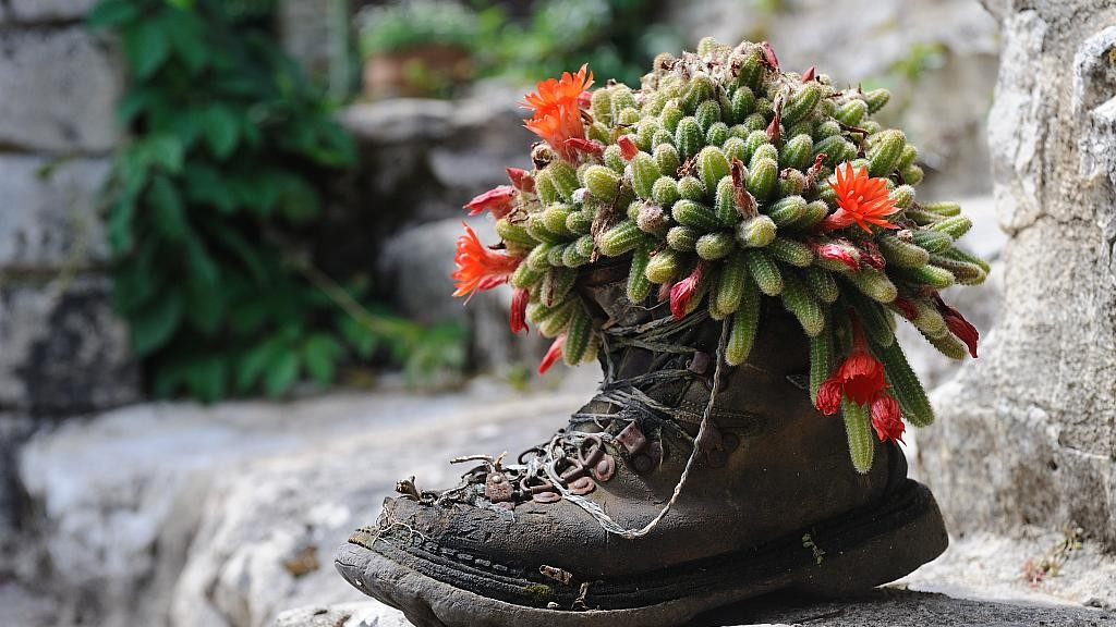 Why recyling a shoe is impossible today?